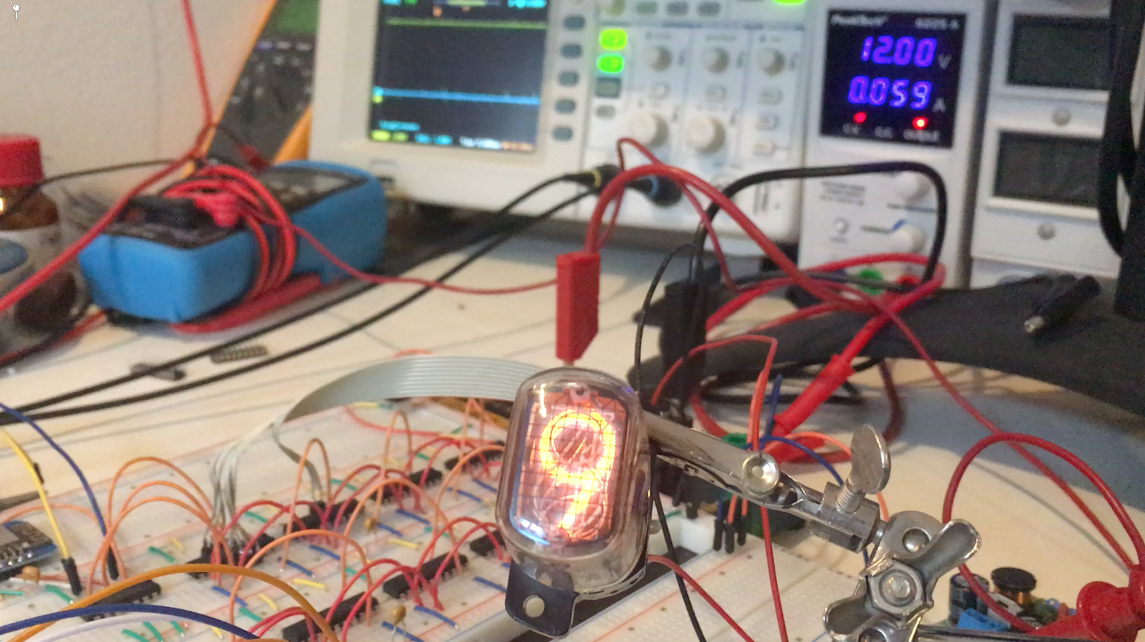 Nixie Display (4): Final Program and One Nixie