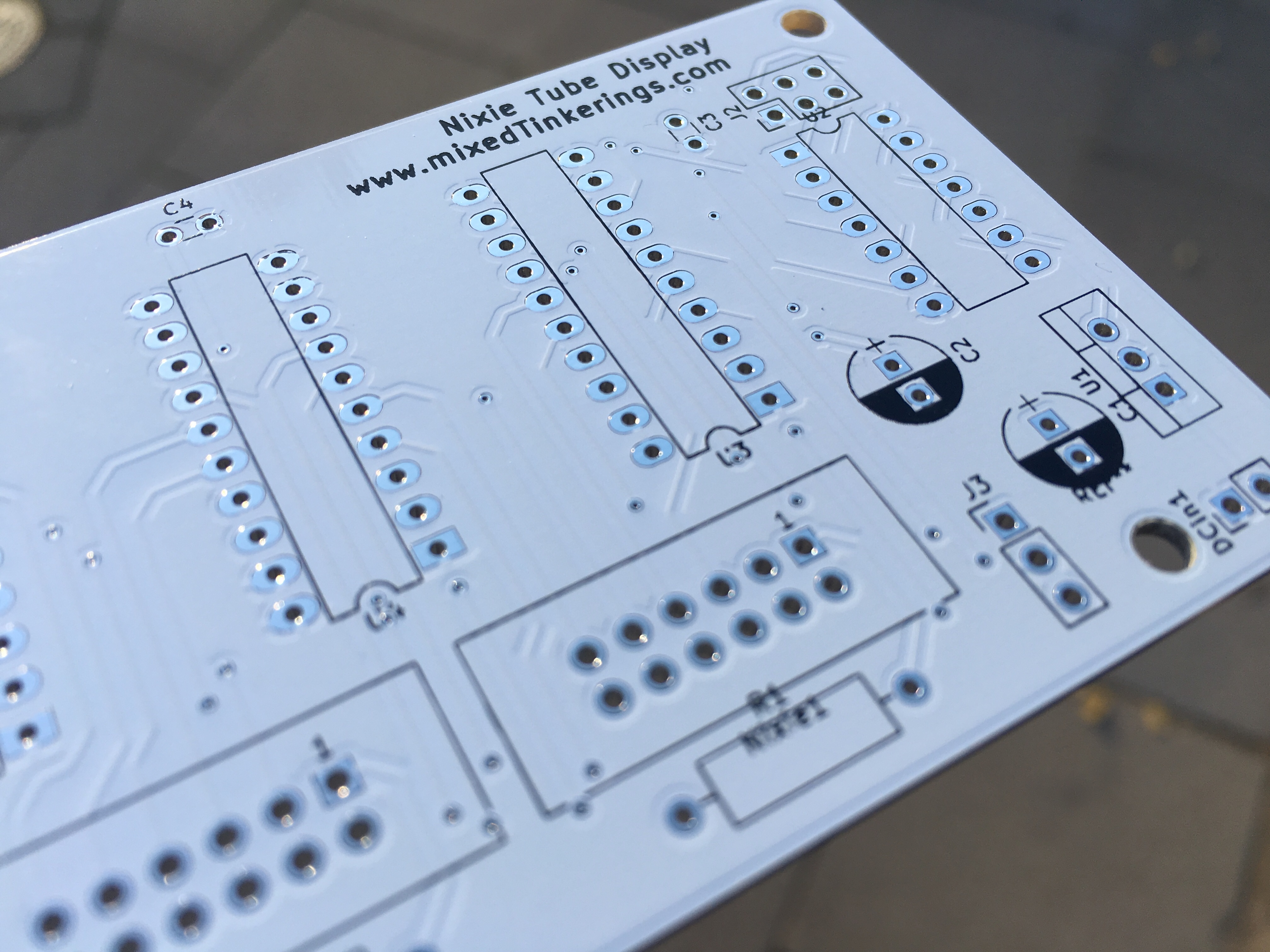 PCB detail view