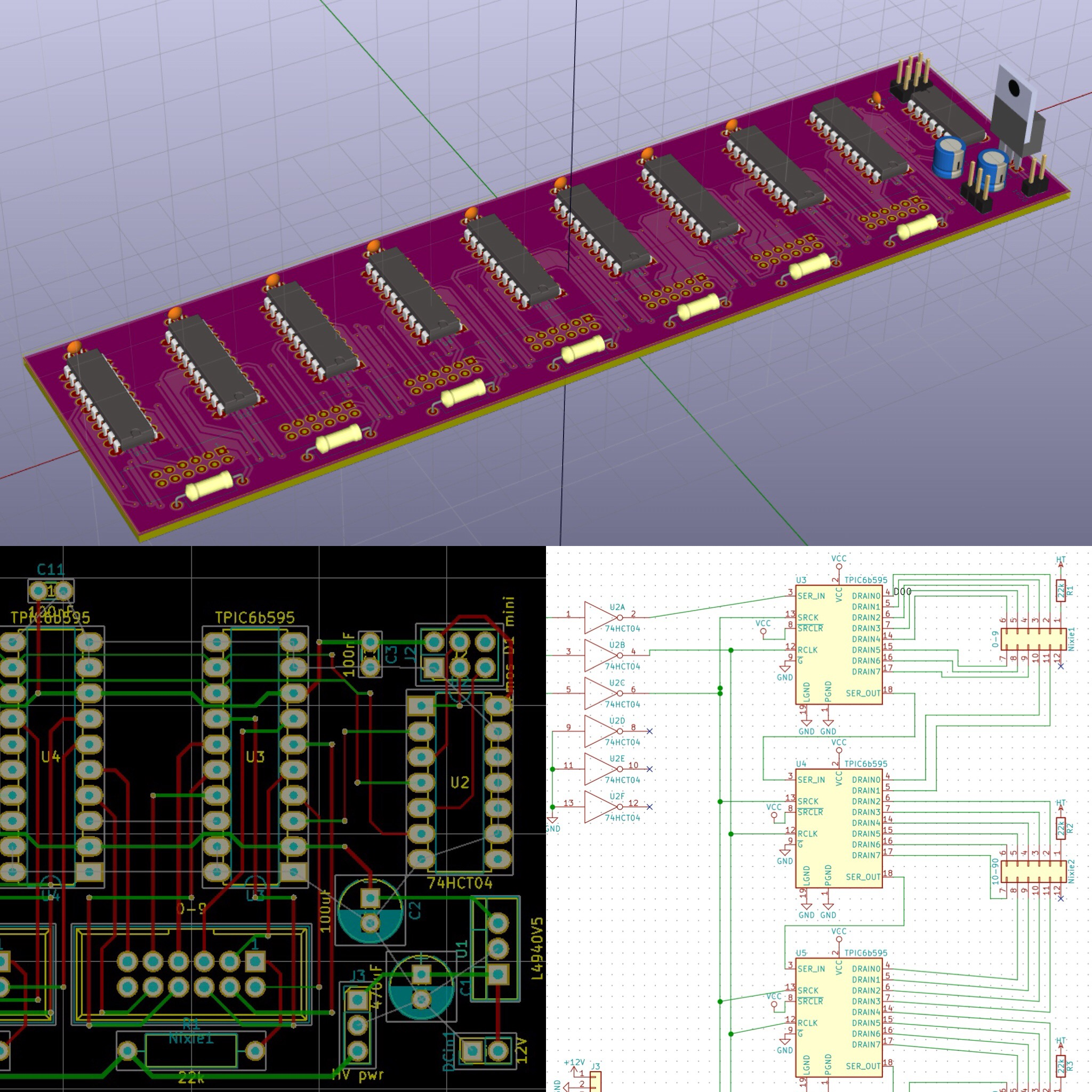 PCB and Schematics