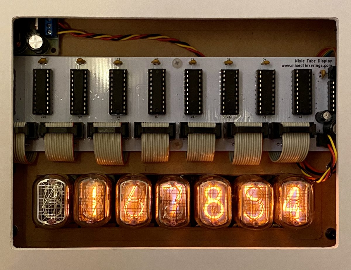 Nixie Display (6): On The Wall!