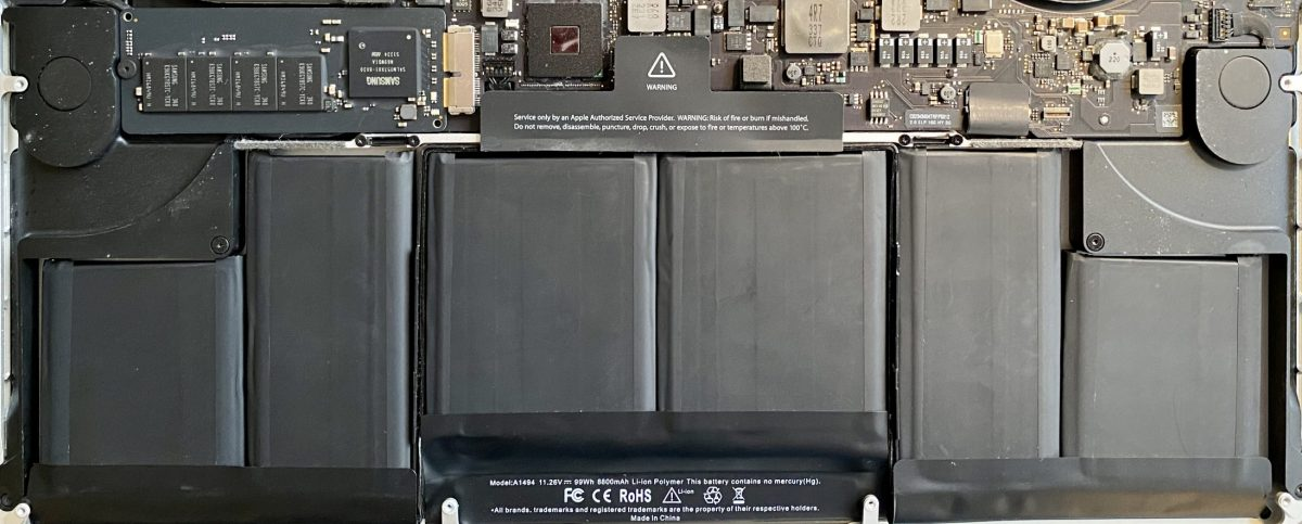 New Battery for my 2013 MacBook Pro